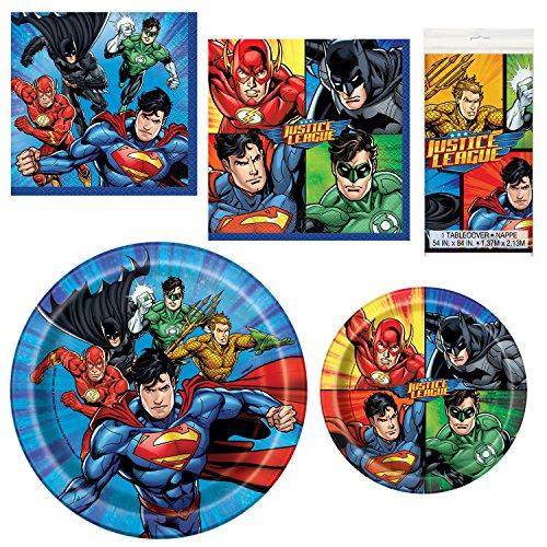 Unique Justice League Party Bundle | Luncheon &