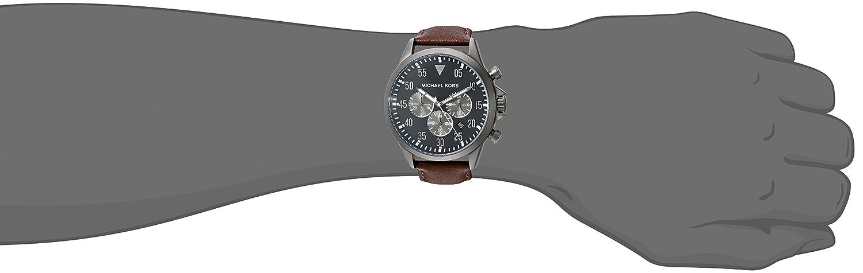 9849c3ccf9e7 Amazon.com  Michael Kors Men s Gage Brown Watch MK8536  Michael Kors   Watches