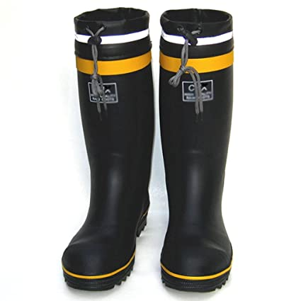 Botas altas de lluvia Hombre Zapatos de pesca Zapatos impermeables Zapatos de seguridad en el sitio