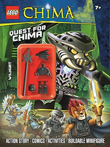 LEGO Chima: Quest for Chima: Activity Book With Minifigure (Lego Chima Book Minifigure)