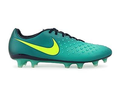 98b200fb Nike Men's Magista Opus II FG Rio Teal/Volt/Obsidian/Clear Jade Soccer