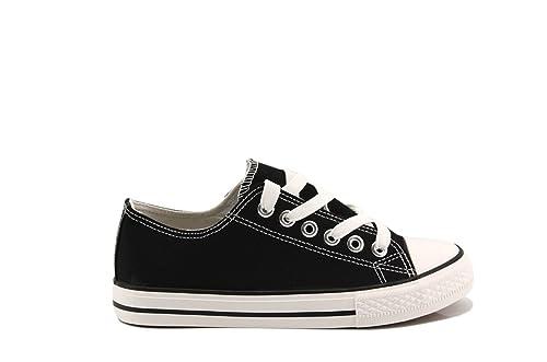MODELISA Damen Sneaker, Schwarz - Schwarz - Größe: EU 38