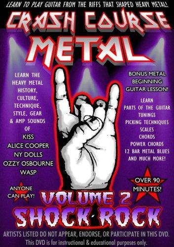 Crash Course Metal 2: Shock Rock [DVD] [2009] [Region 1] [US Import] [NTSC]