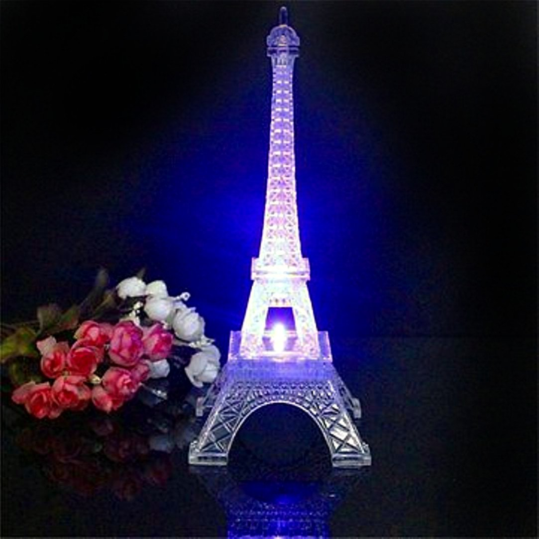 Valentine Gifts - Metal Eiffel Tower with Light