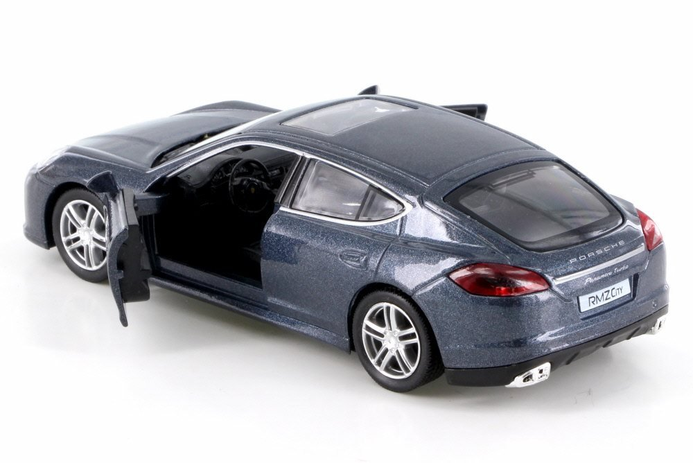 Amazon.com: RMZ City Porsche Panamera Turbo, Gray 555002 - Diecast Model Toy Car but NO BOX: Toys & Games