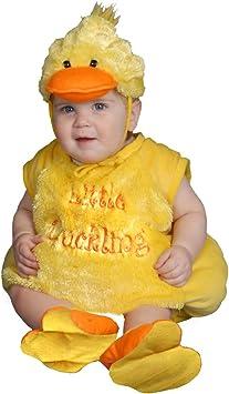 Dress Up America - Disfraz de patito de peluche para bebés, talla ...