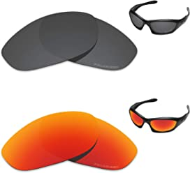 9333836a62 Tintart Performance Replacement Lenses for Oakley Monster Dog Polarized  Etched - Value Pack