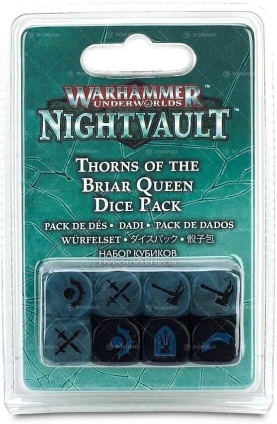 Warhammer Underworlds Nightvault Thorns of The Briar Queen Dice Pack