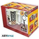 165843f8ebb09 ABYstyle - Monedero con Llavero de One Piece con Calavera y Sombrero ...