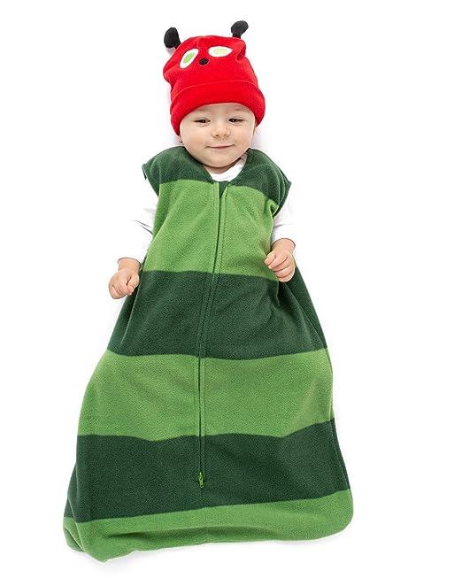 Cuddle Club Sacos de Dormir de Forro Polar para bebé - Pijama bebé ...