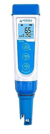 Apera Instruments PC60 Waterproof pH/EC Tester Kit