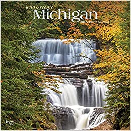 Michigan 2020 Calendar Wild & Scenic Michigan 2020 Calendar: Foil Stamped Cover