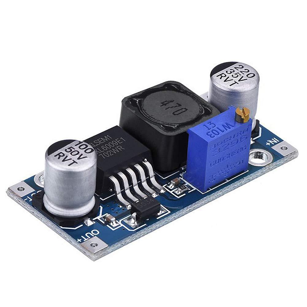 KeeYees 6pcs LM2596 Step Down Buck Converter Adjustable DC to DC 3.2-40V to 1.25-35V Voltage Regulator Module