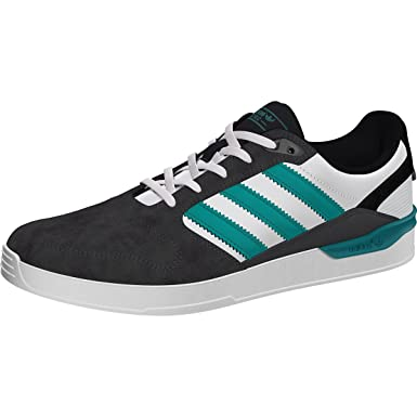 adidas Skateboarding Men's ZX Vulc DGH Solid Grey/EQT Green/White Athletic Shoe