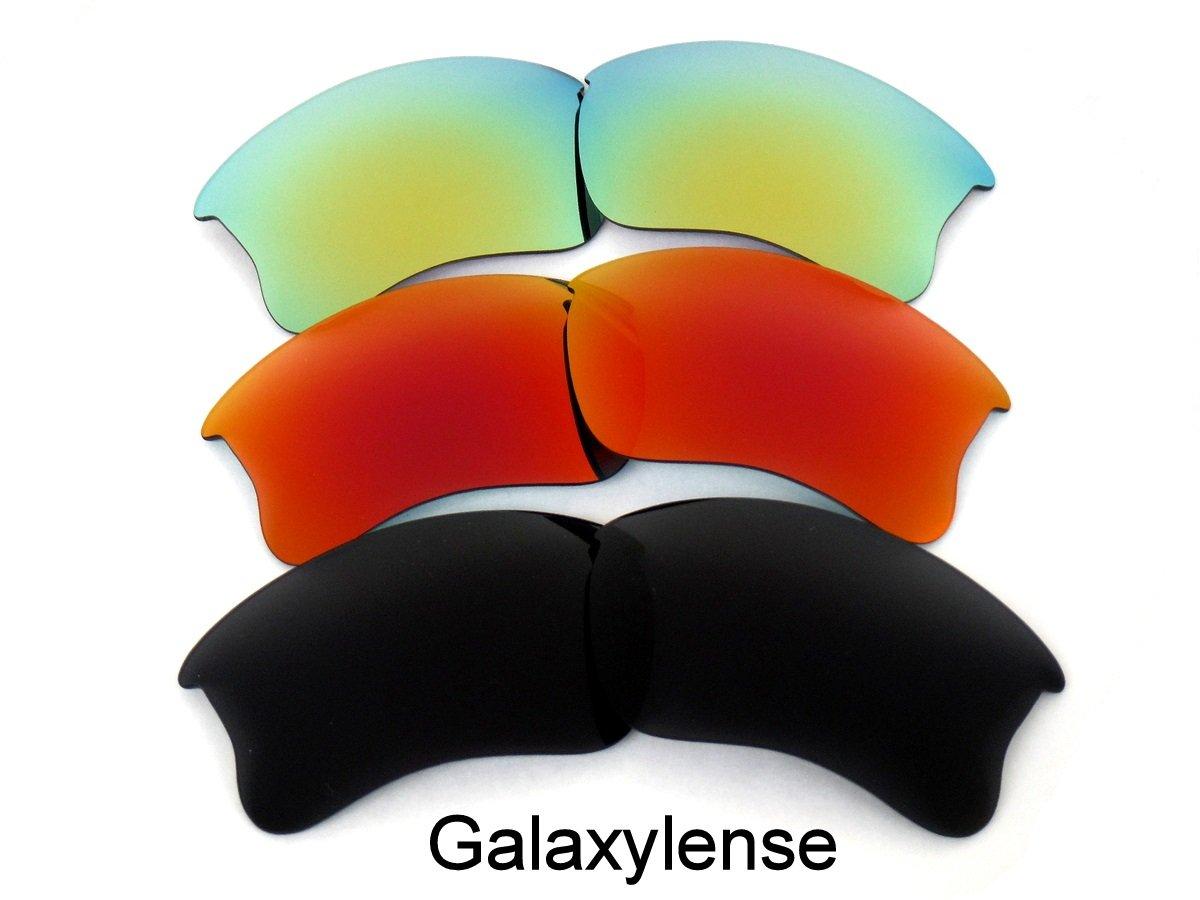 Galaxis Ersatzgläser Für Oakley Flak Jacke XLJ Polarisierend schwarz ...
