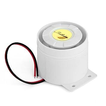 taikuwu Mini sirena con cable para el escritorio de electrodoméstico Boutique garaje sistema de alarma de seguridad Kit GSM sistema de seguridad de ...