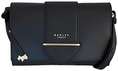 eb8b58d40b4c RADLEY  Palace Street  Black Leather Small Across Body Bag - RRP £149.00