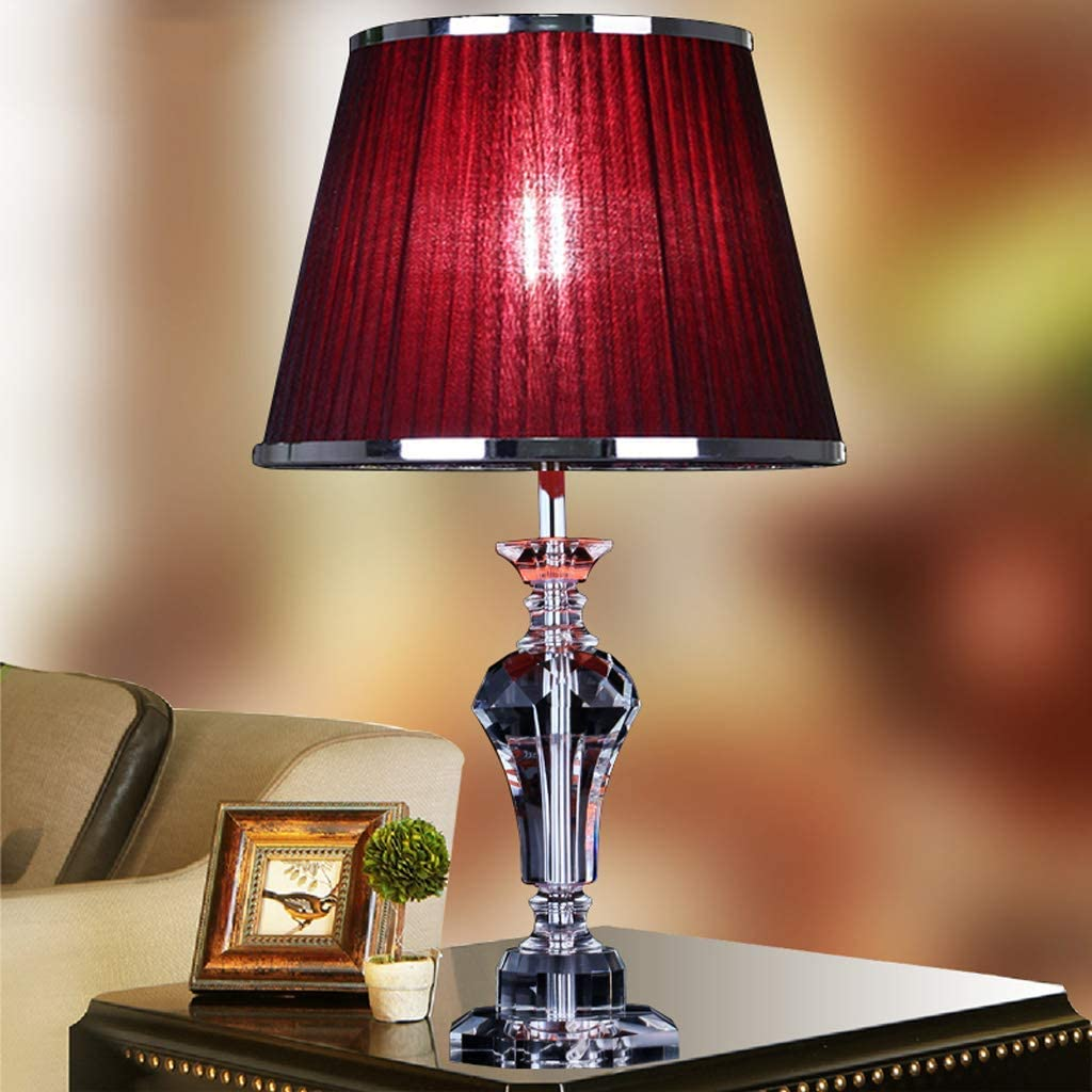 YINUO Table Lamps Red Warm Bedroom