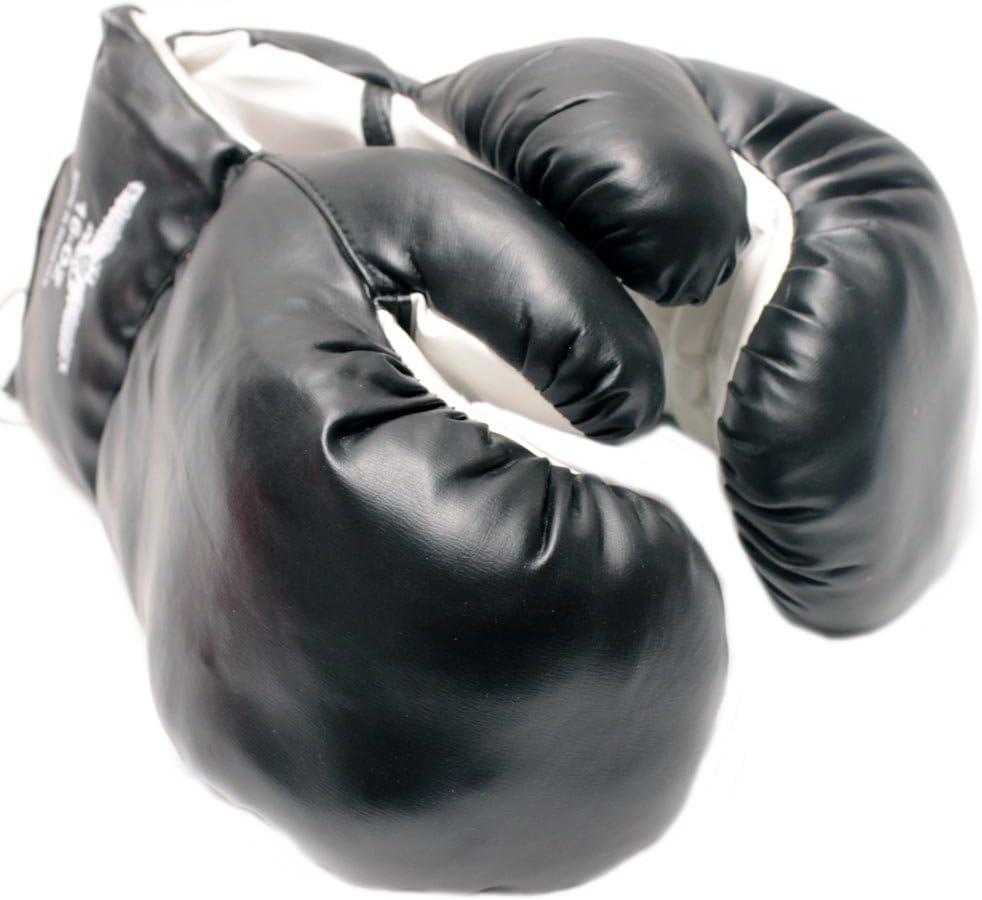 1ペアブラック14オンスボクシングパンチ手袋Great練習