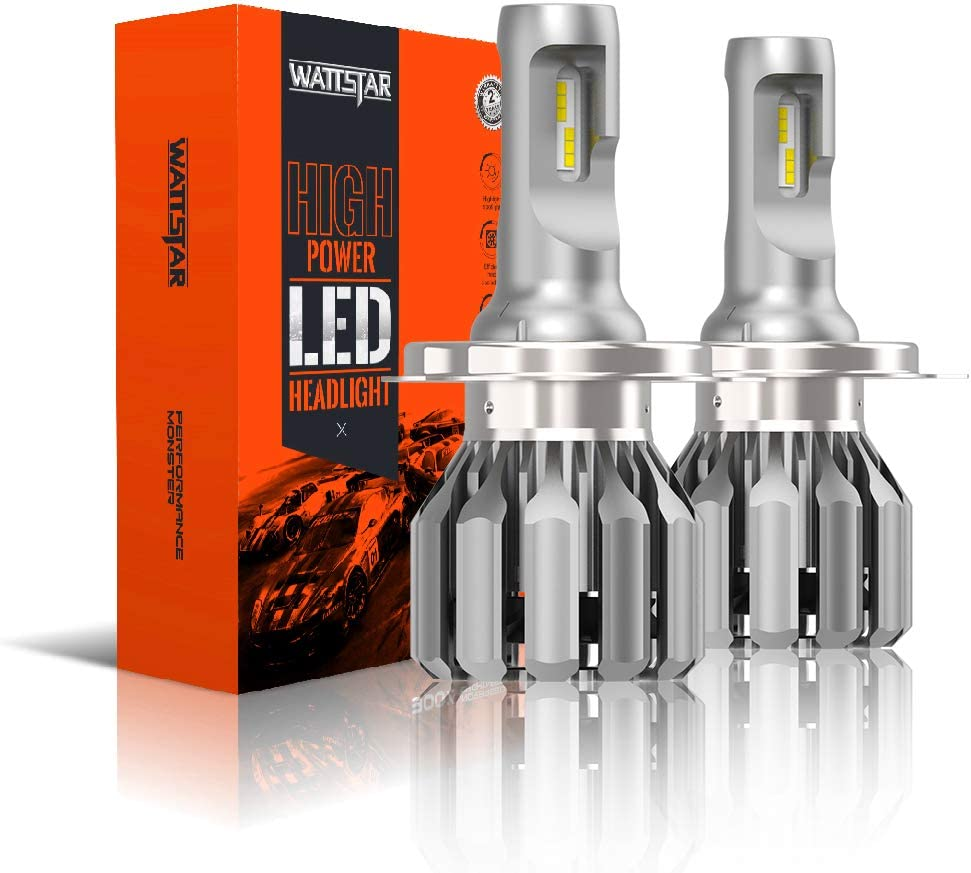 Wattstar h7 conversion kit,6000k bright white headlight bulb,42W,DC12V,replacement kit,car accessories of light. pack of 2