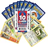 Pokemon 10 Card Lot (9 Commons/Uncommons, 1 Holo or Rare) Cazillion Cards Repack