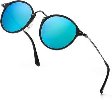 ELIVWR Gafas De Sol De Moda Para Mujer -Lentes Polarizadas- Con Estilo Ojo De Gato, 100% de Protección Contra Los Rayos UVA/UVB Dañi