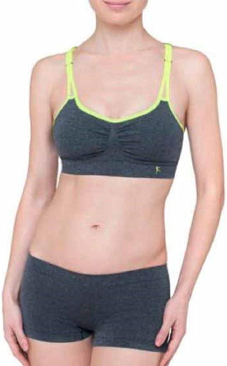 SMALL NEW Women/'s Danskin Now Seamless Athletic Padded Sports Bra Size