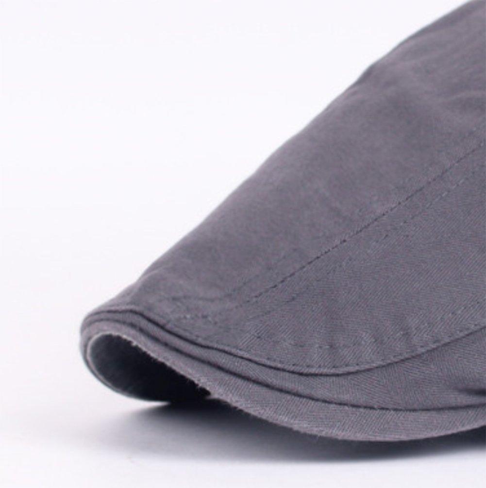 Westeng Sombreros Elegante Sombrero de Boina Aire Libre Ajustable del Sombrero  para Hombre para Primavera be95f059d54