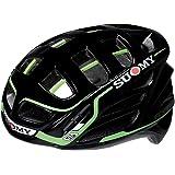 SUOMY Casco para Moto Integral SR, Multicolor (Black/Green), XL
