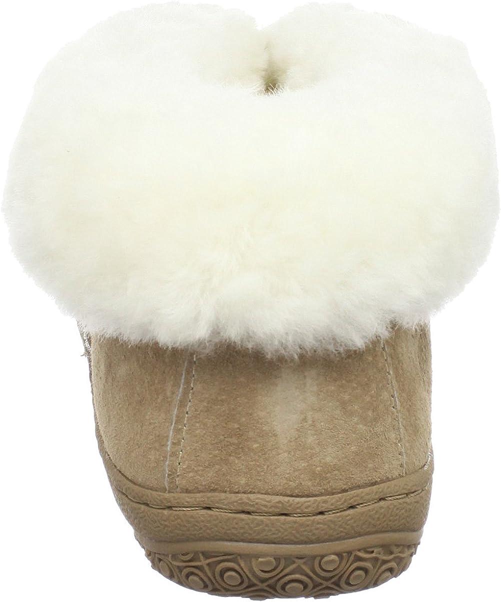 Details about  /NEW Old Friend Childrens Sheepskin Bootie Slipper