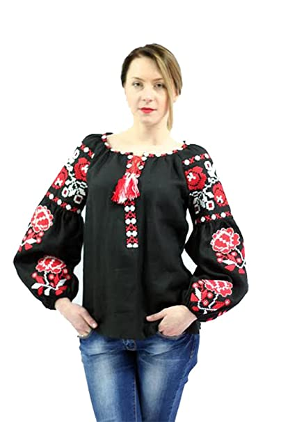 Camisas Large X Mujer Amazon Ukrainian Negro Para Fashion 5zYS1