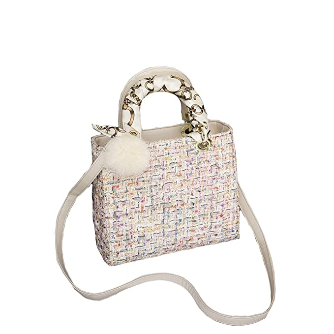 2018 Baby Wolltuch Karriere OL Handtasche Mode Frauen Umh/ängetasche Messenger Bag Umh/ängetasche Abendtasche Ball Schals Geldb/örse Quadratische Tasche