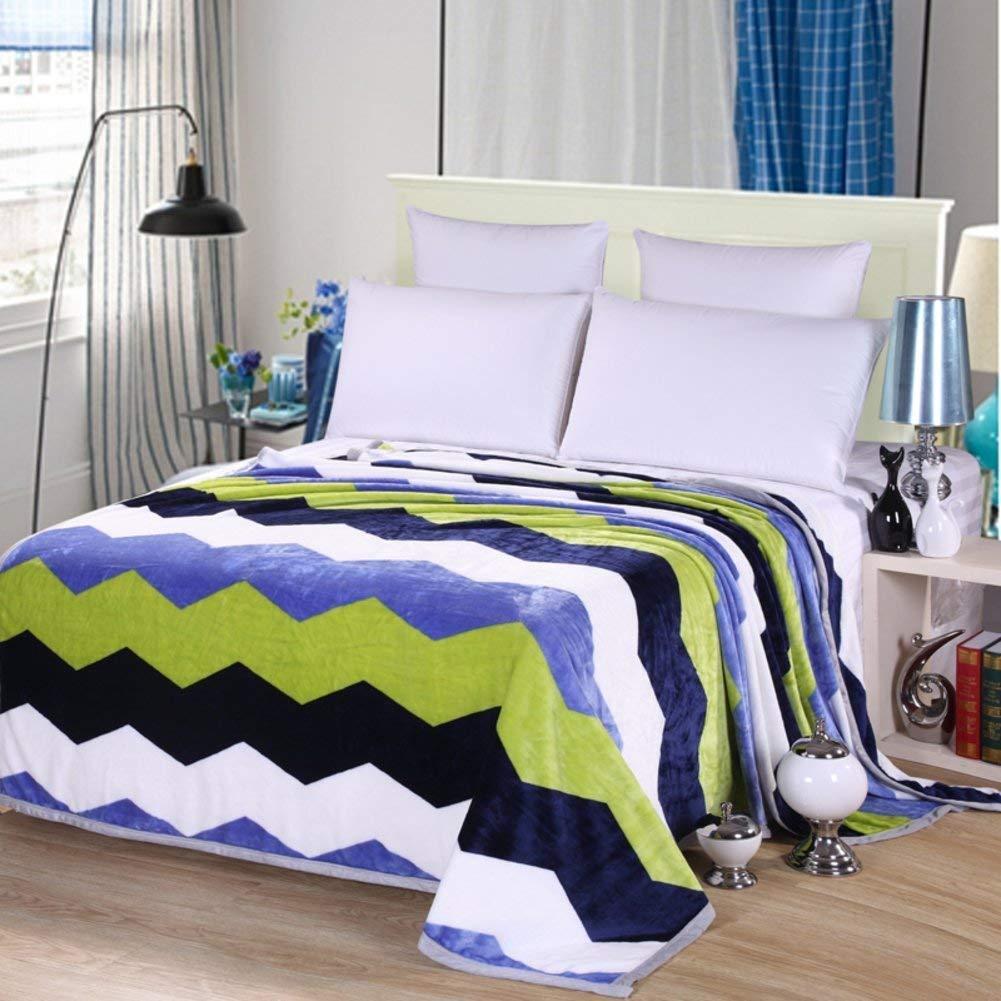Yunyilian 冬の厚くなるフランネル毛布、暖かい単一の二重タオルのキルト毛布 (Color : 200x230cm(79x91inch), サイズ : B) B07QZQWR3Z 200x230cm(79x91inch) B