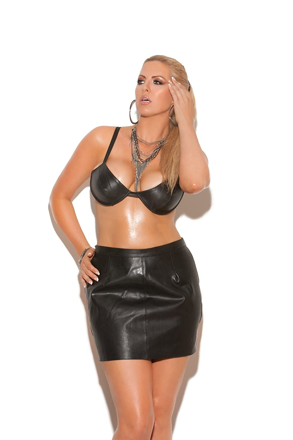 Plus size spank skirt
