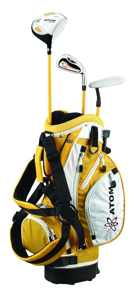 Founders Club Atom Complete Junior Golf Set, Youth 36-45'' Tall, Ages 3-6, Right-Handed