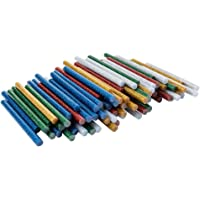 Universele lijmpatronen voor hete lijmpistolen | hete lijmsticks | Ø 7 mm | 10 cm lang | 100 stuks (5 kleuren met…