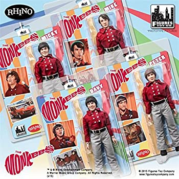 The Monkees; 8 inch action figures Series 1;Red Band Suits set of 4 figures