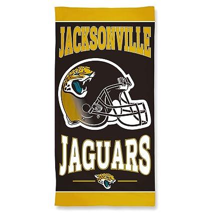 7890d00d Amazon.com : WinCraft NFL Jacksonville Jaguars Towel30x60 Beach ...