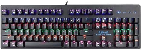 E-blue teclado mecánico retroiluminada Gamer ekm757 – Mazer