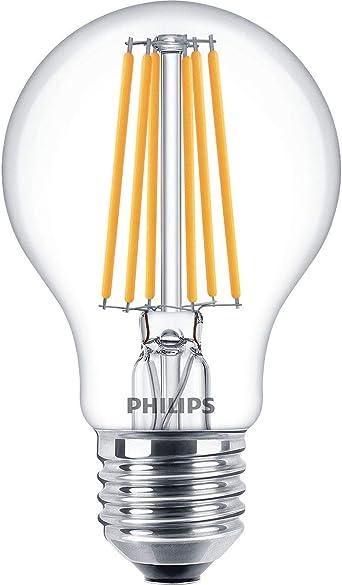 PHILIPS 8 Watt LED Filament Lampe DIMTONE Birne E27 klar Glühlampenform