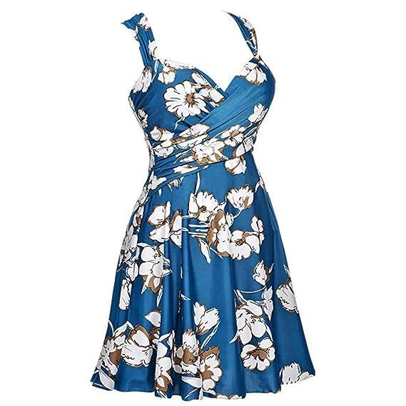 6523eefd2f Amazon.com  Lywey One Piece Swimsuits for Women Slimming Monokini Swimwear  Bathing Suits HalterSwi  Kitchen   Dining