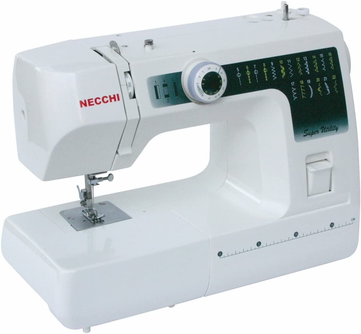 Necchi Máquina de Coser Metal Blanco SUB22: Amazon.es: Hogar