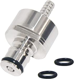 Carbonation Cap Stainless Steel Soda Made Cap Counter Pressure with 5/16