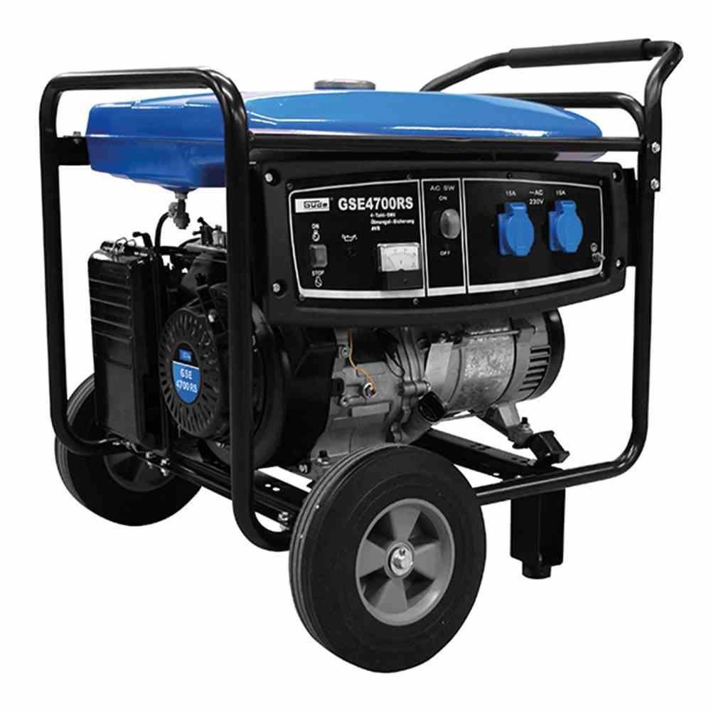 Stromerzeuger GSE 4700, 3500/4000 Watt 1-Zylinder/4-Takt-Motor 6,6kW (9PS)