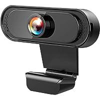 SEASKY Webcam con micrófono,Video Cámara Web1080P Full HD USB, Estudio en línea,Videollamadas, Estudios, Conferencias…