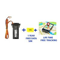 Zaicus Gps Tracker Security System Car, Bike, Truck And Bus Real Time Location Tracker (Gps)
