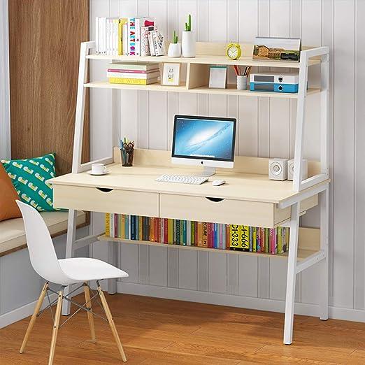 Laptop PC Computer Desk Desktop Table Workstation Book Shelve//Drawer Home Office