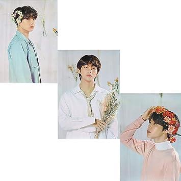 BTS World Tour Photo Poster V JK Jimin RM SUGA JHOPE JIN