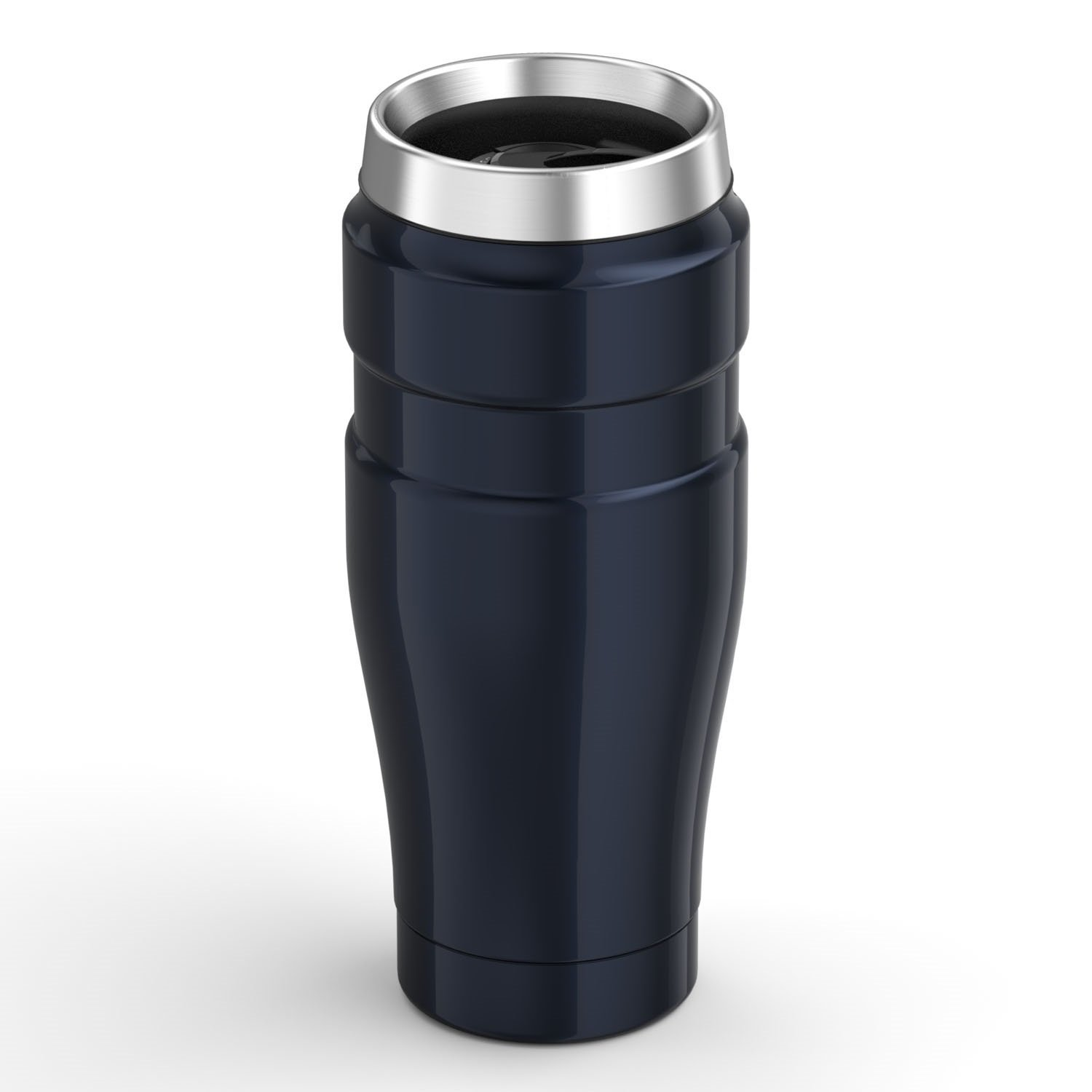 f464e4e2855 THERMOS Stainless Steel King 16 Ounce Travel Tumbler, Midnight Blue:  Thermos: Amazon.ca: Home & Kitchen