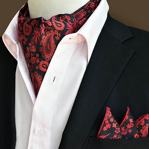 CHAOXIAN Corbatas Pañuelo + Juego de Toallas de Bolsillo Hombres ...